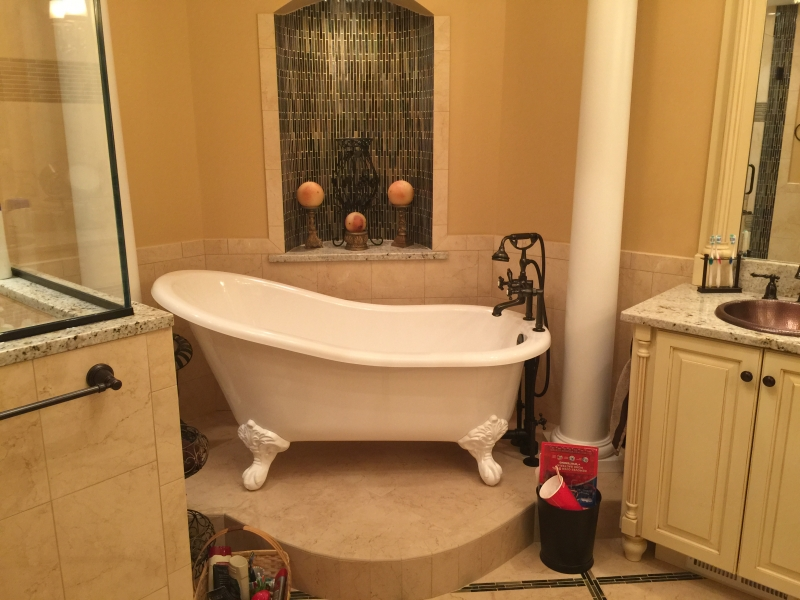 Peach Ridge Master Bath